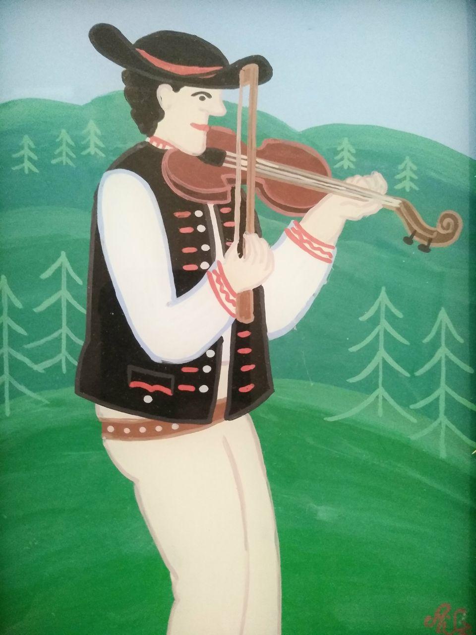 Antoni Szpyrc -houslista